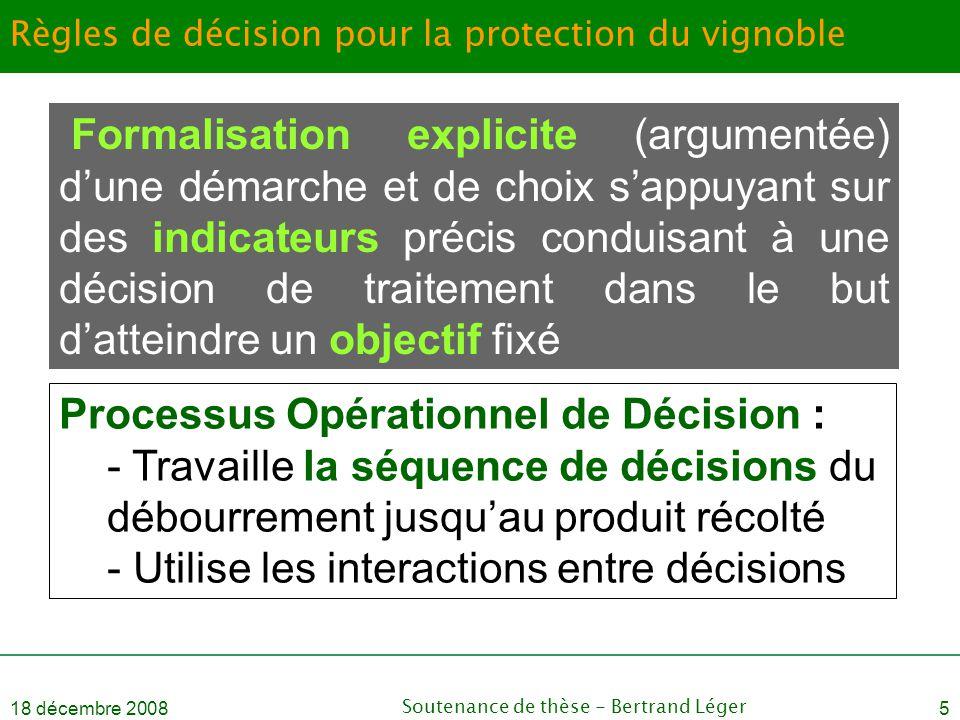 Règles de décision pour la protection du vignoble