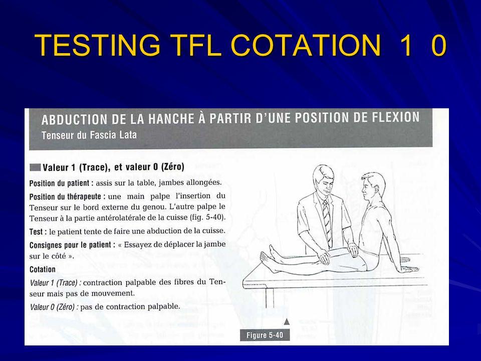 TESTING TFL COTATION 1 0