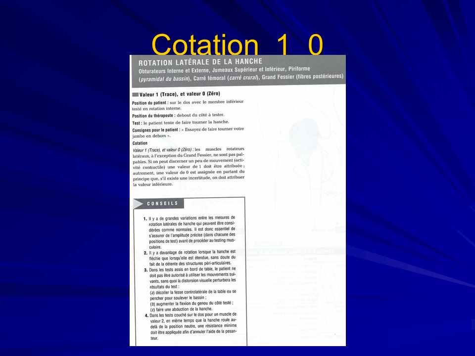 Cotation 1 0