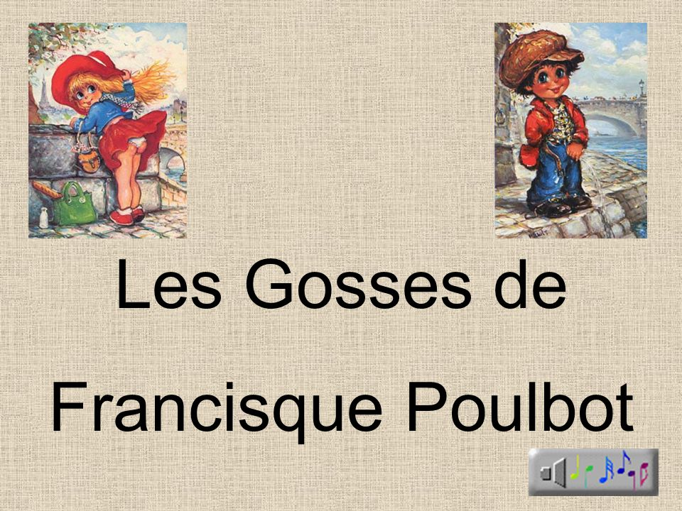Les Gosses de Francisque Poulbot