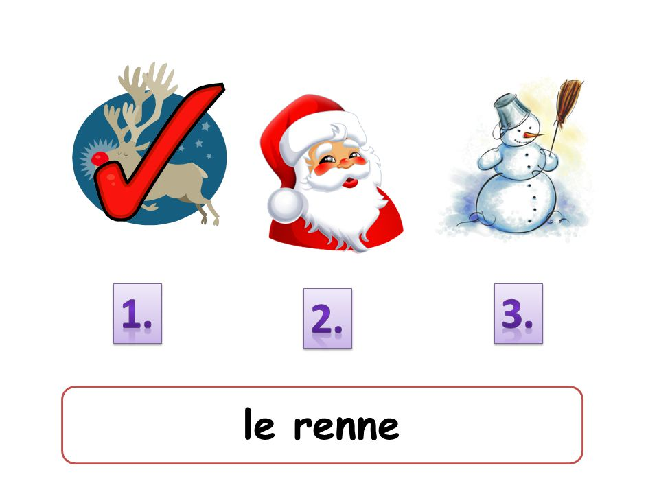 1. 3. 2. le renne
