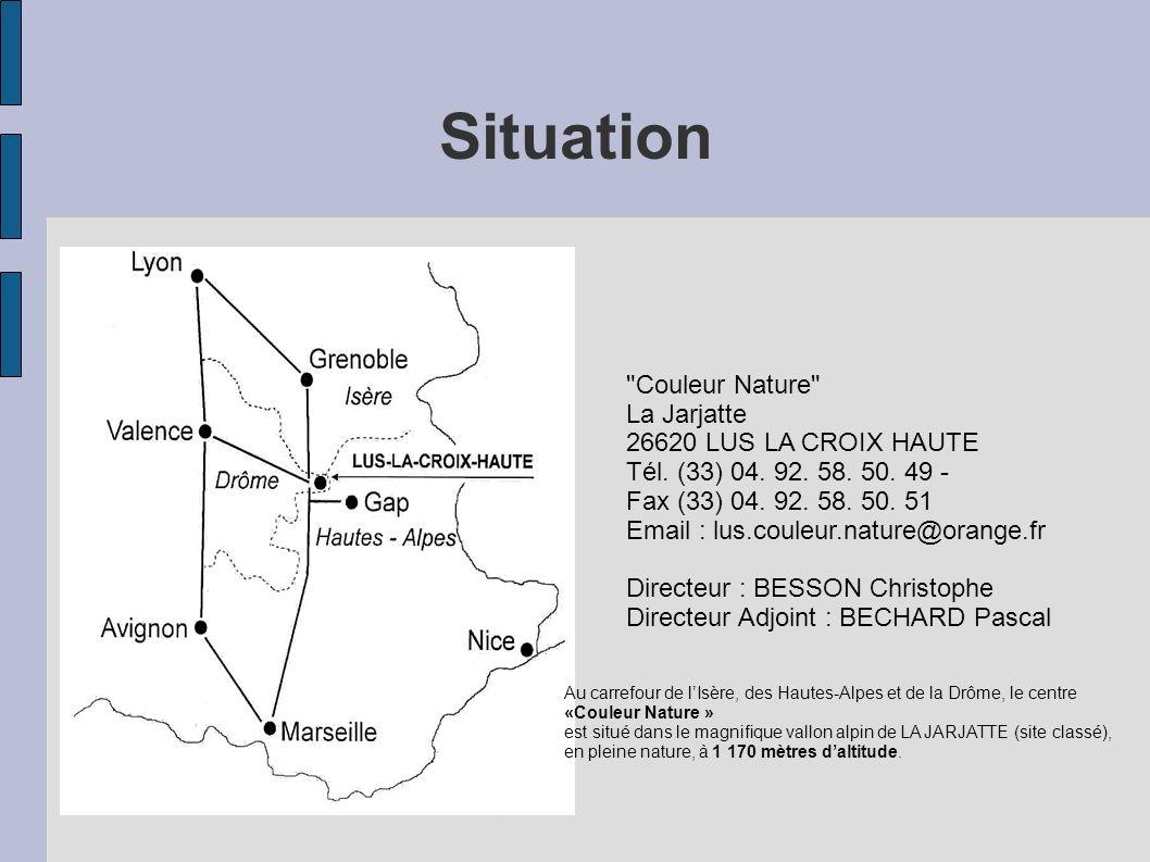 Situation Couleur Nature La Jarjatte 26620 LUS LA CROIX HAUTE