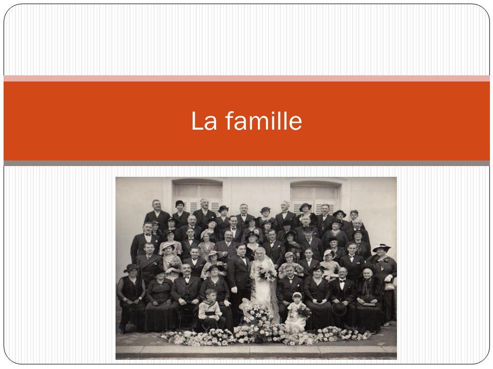 La famille C´est un photo de la famille à 1.933