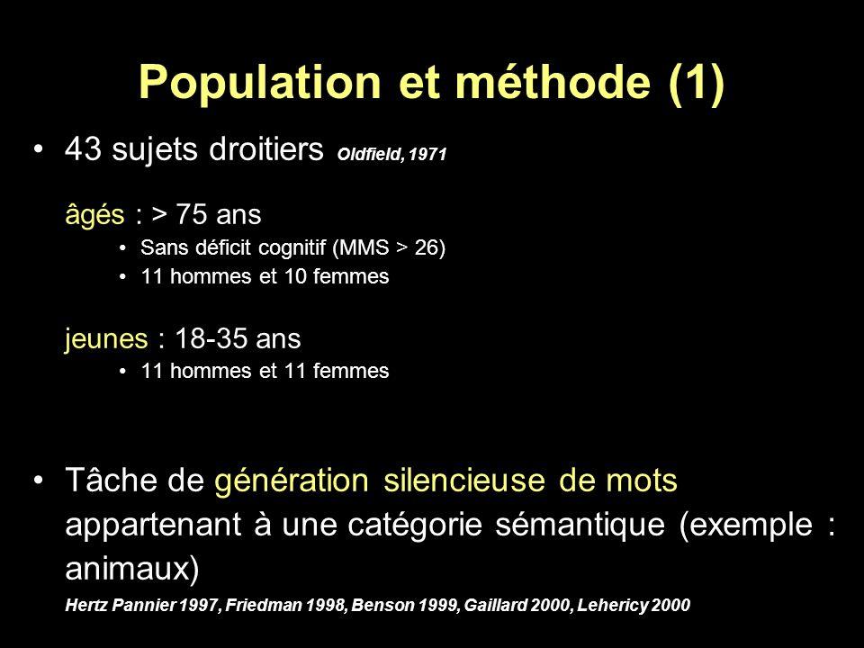 Population et méthode (1)