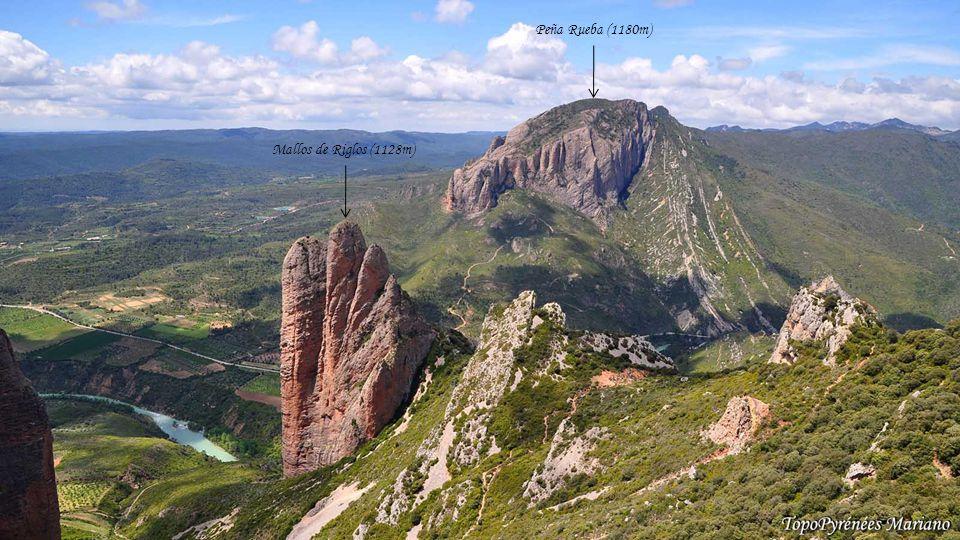 Peña Rueba (1180m) Mallos de Riglos (1128m) . . . . . . . .