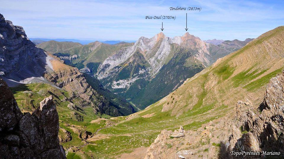 Tendeñera (2853m) Pico Otal (2705m) . . . . . . . .