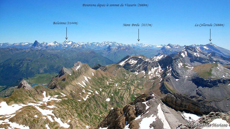 Panorama depuis le sommet du Visaurin (2669m)