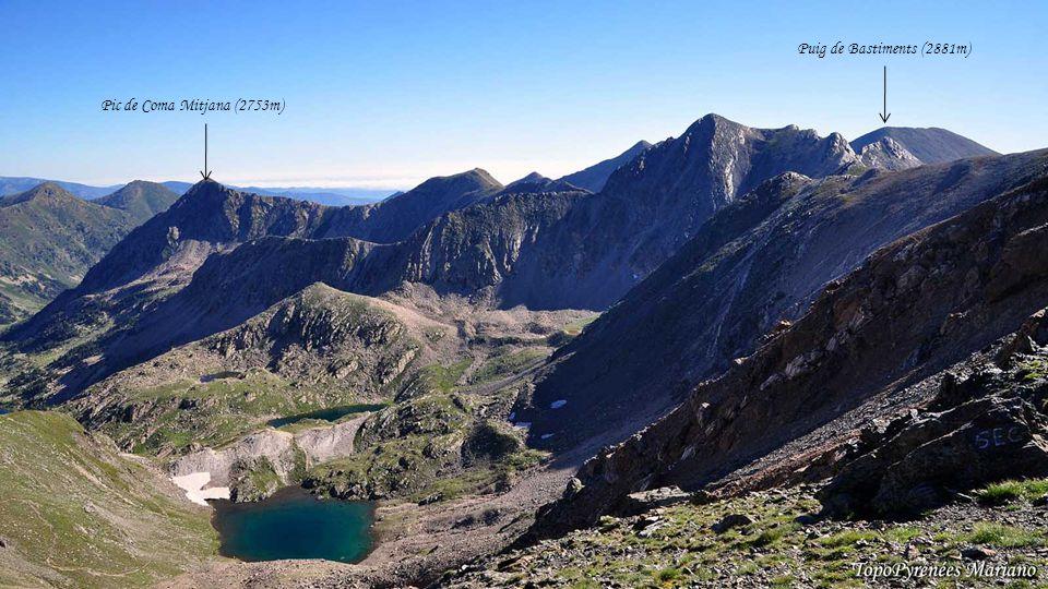 Puig de Bastiments (2881m) Pic de Coma Mitjana (2753m) . . . . . . . .