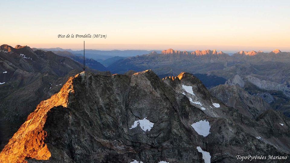 Pico de la Frondella (3071m)