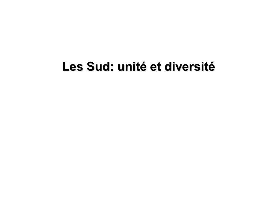 Les Sud: unité et diversité