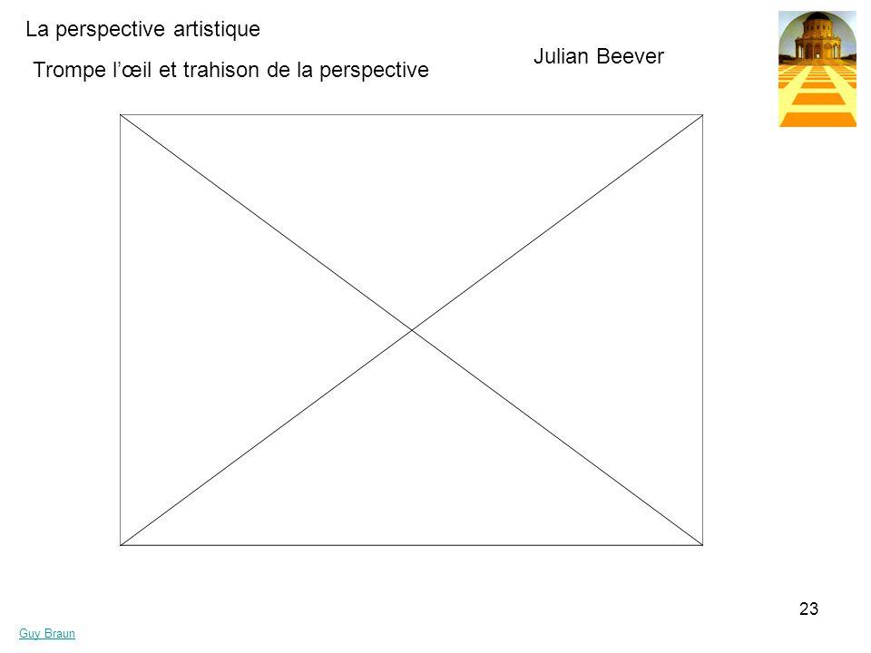 Julian Beever Trompe l'œil et trahison de la perspective