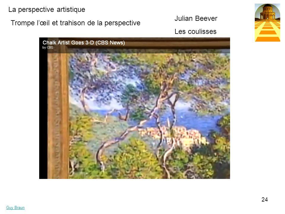Julian Beever Les coulisses Trompe l'œil et trahison de la perspective
