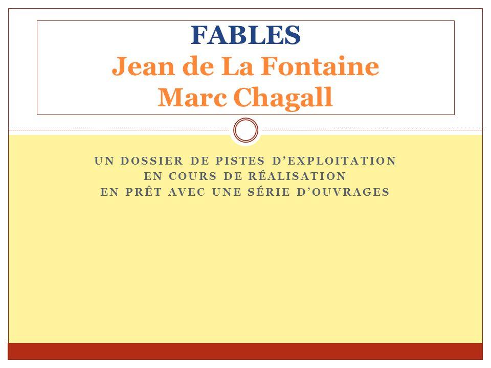 FABLES Jean de La Fontaine Marc Chagall