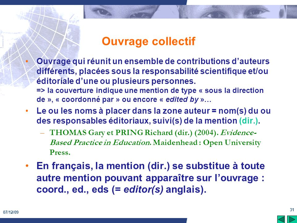 Ouvrage collectif