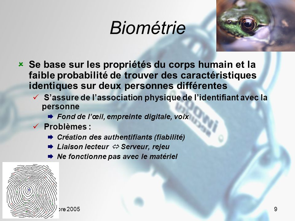 Biométrie