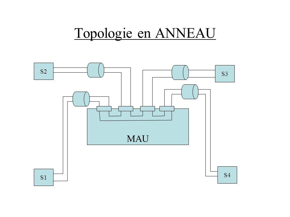 Topologie en ANNEAU S2 S3 MAU S4 S1