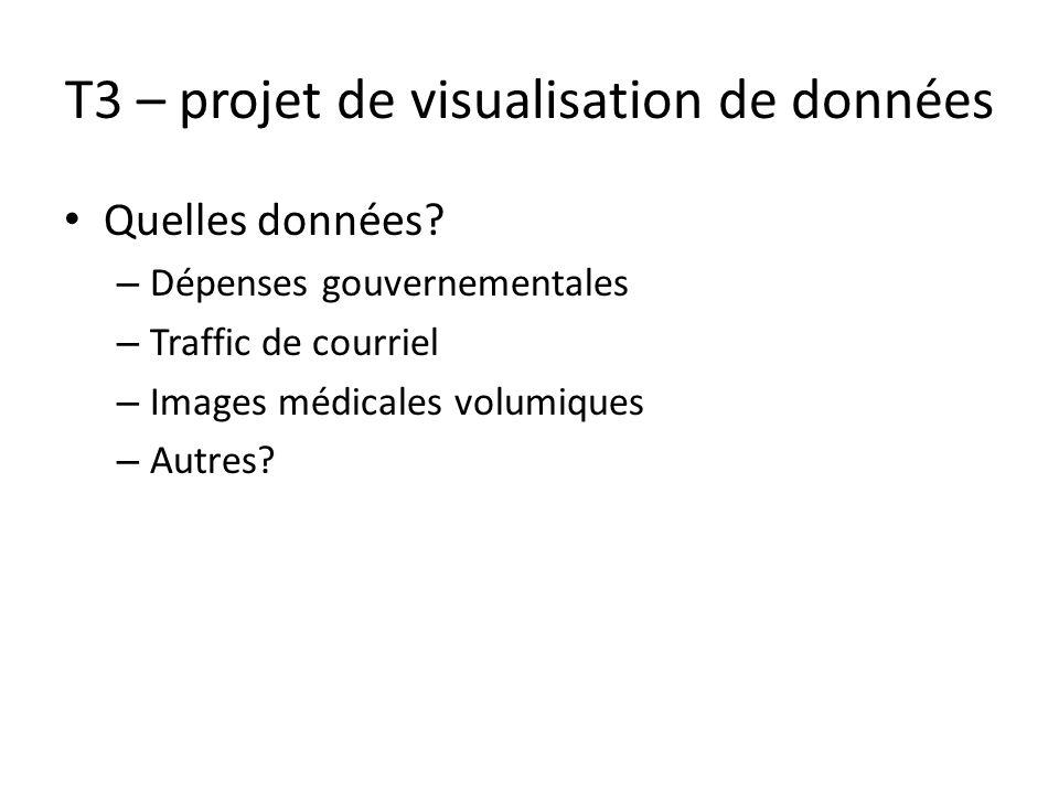 T3 – projet de visualisation de données