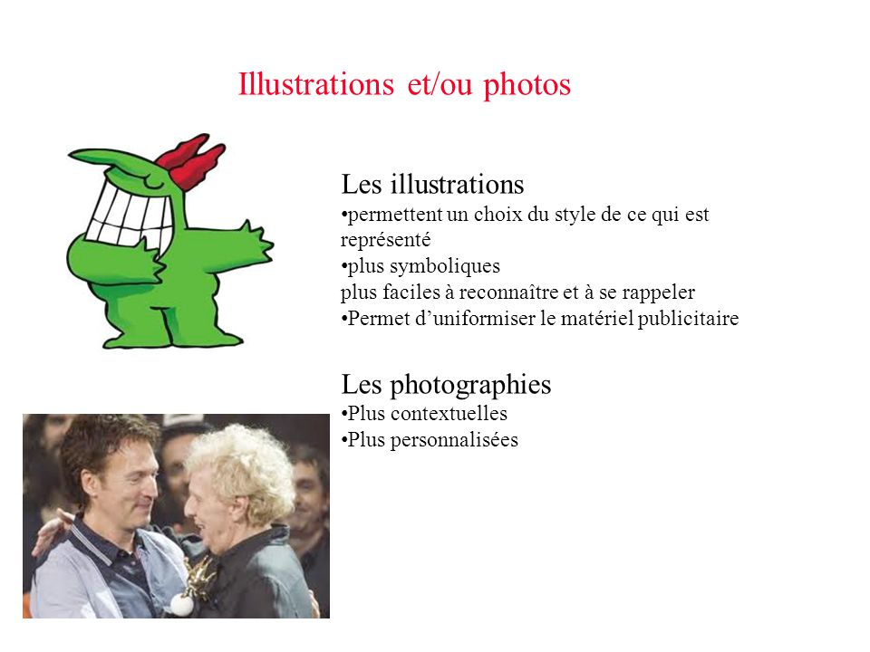 Illustrations et/ou photos