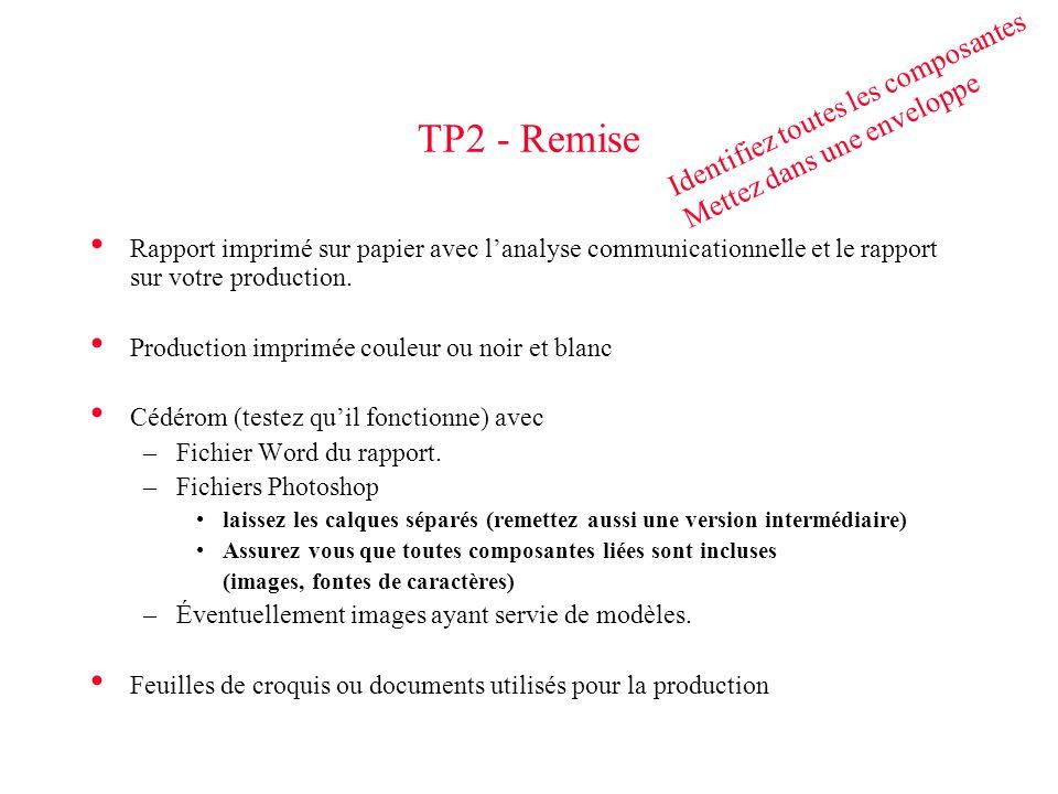 TP2 - Remise Identifiez toutes les composantes