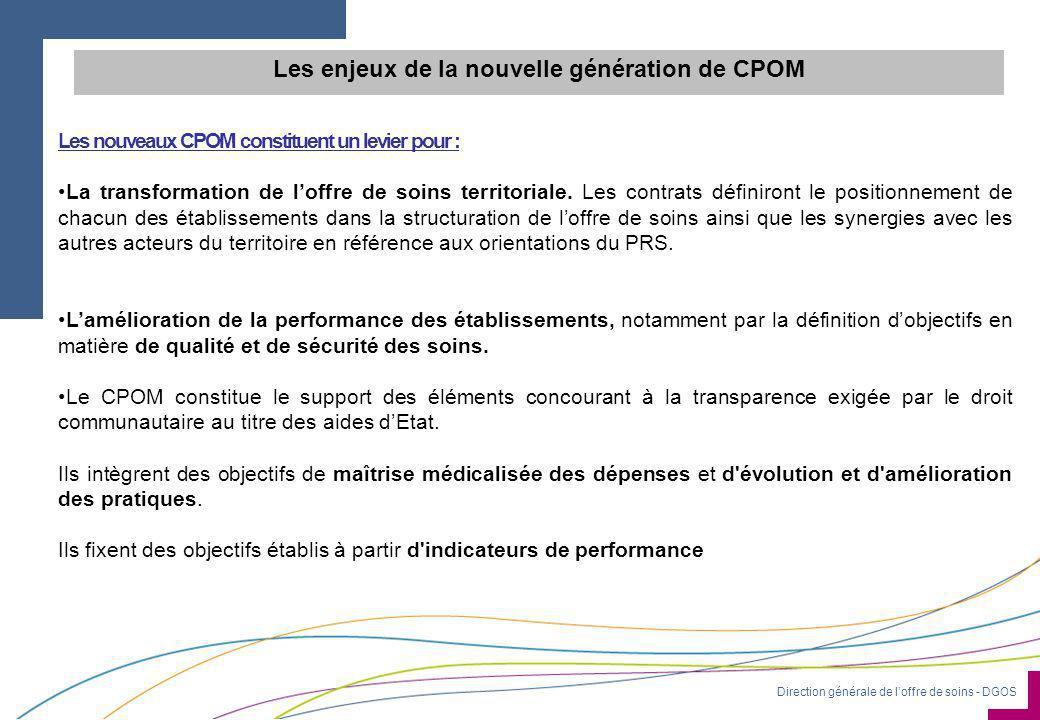 Les enjeux de la nouvelle génération de CPOM