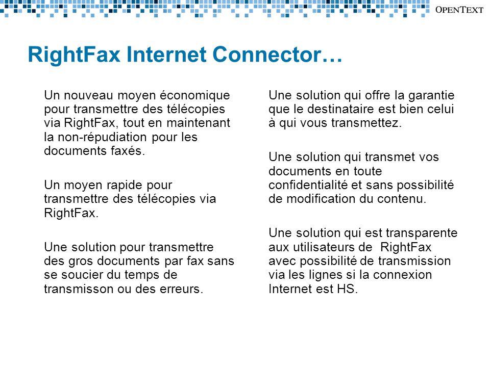 RightFax Internet Connector…
