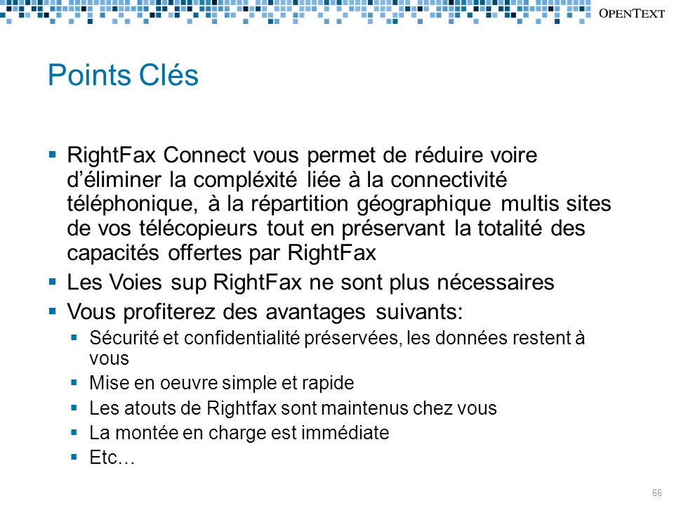 Points Clés