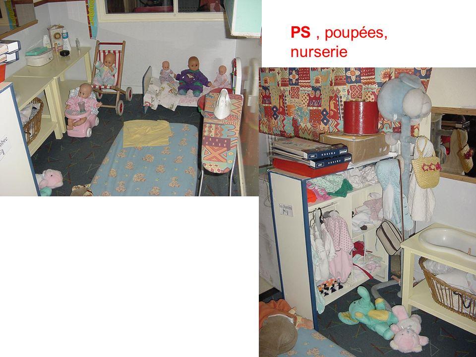 PS , poupées, nurserie