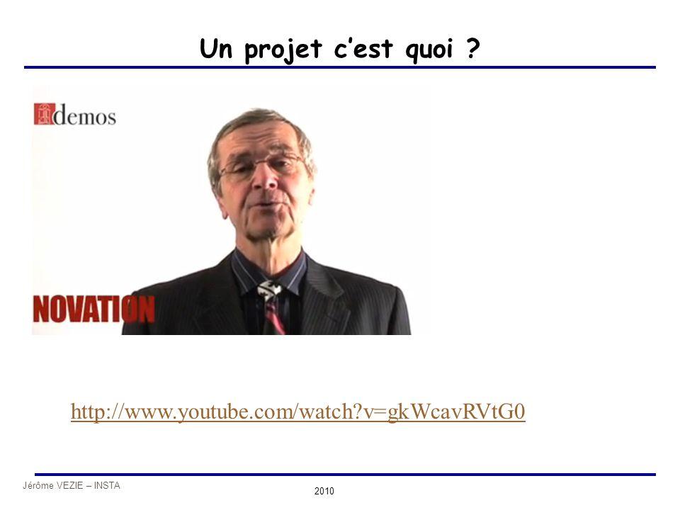 Un projet c'est quoi http://www.youtube.com/watch v=gkWcavRVtG0