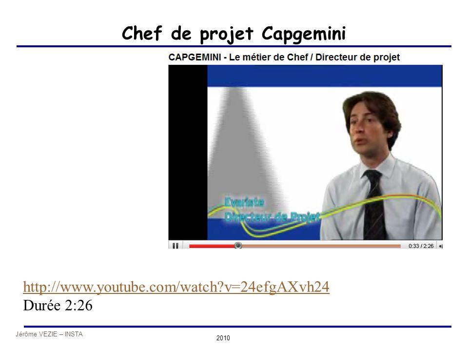 Chef de projet Capgemini