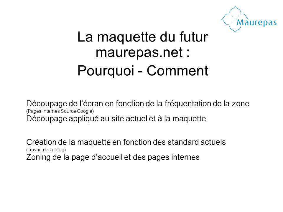 La maquette du futur maurepas.net : Pourquoi - Comment