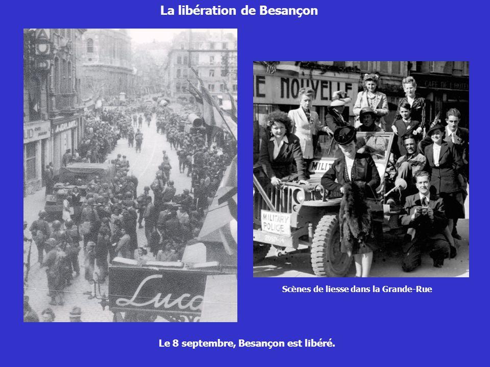 La libération de Besançon