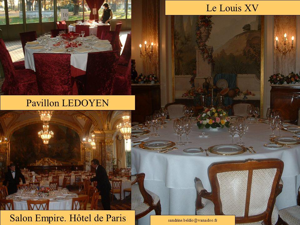 Salon Empire. Hôtel de Paris