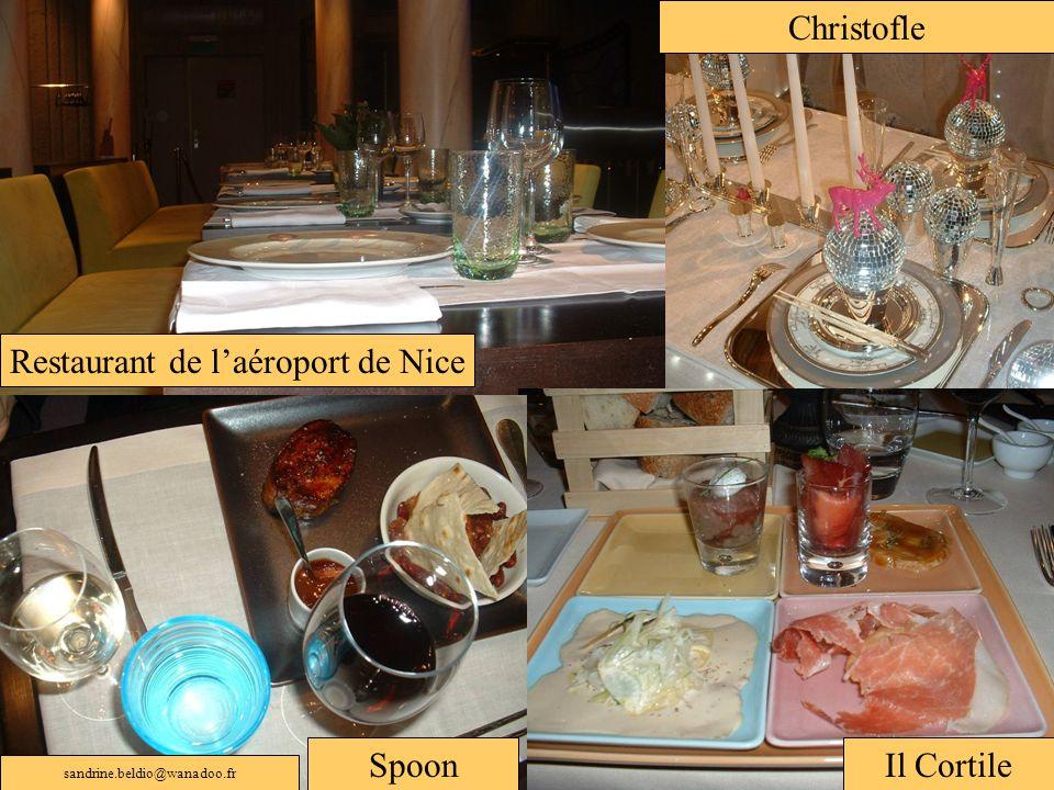 Restaurant de l'aéroport de Nice
