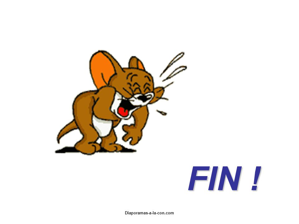FIN ! Diaporamas-a-la-con.com