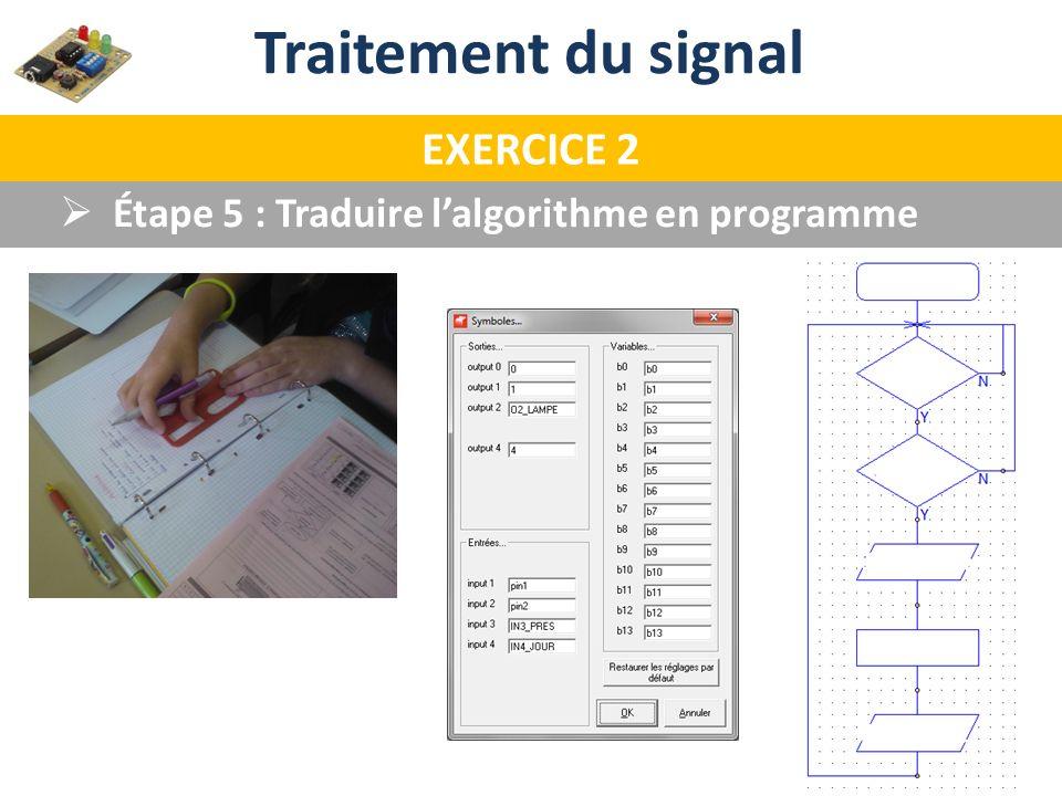 Traitement du signal EXERCICE 2