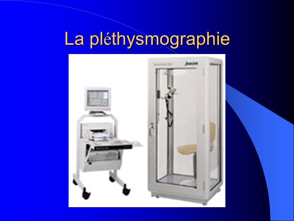 La pléthysmographie