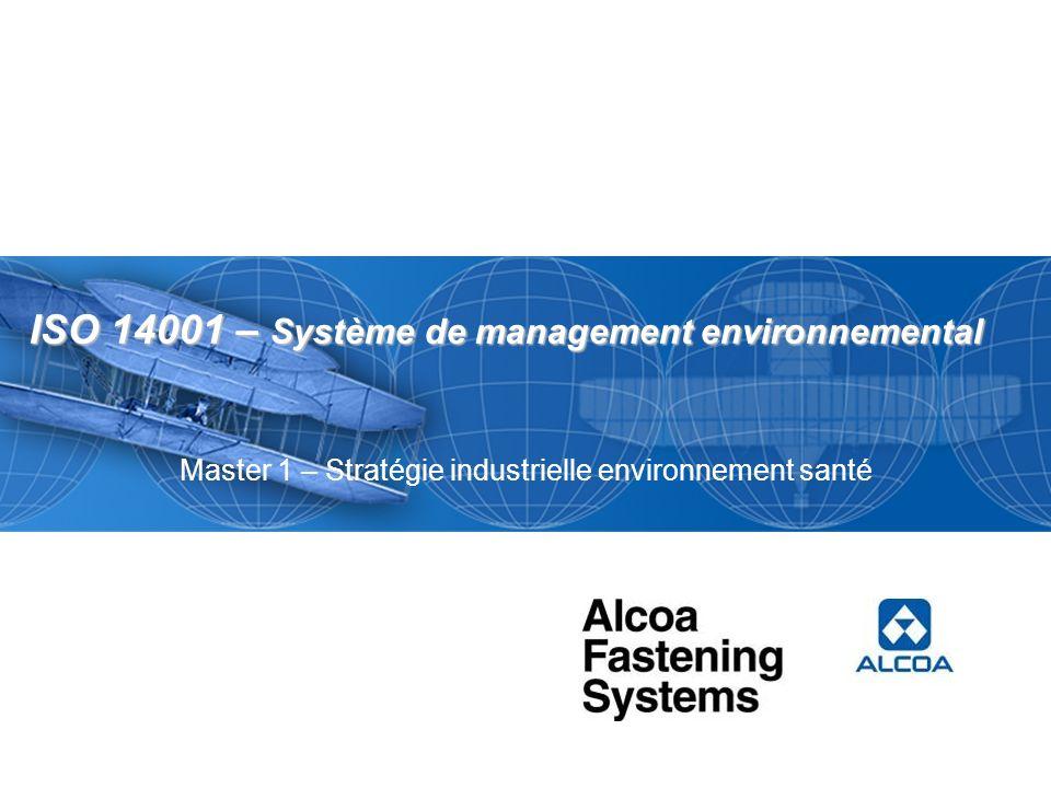 ISO 14001 – Système de management environnemental