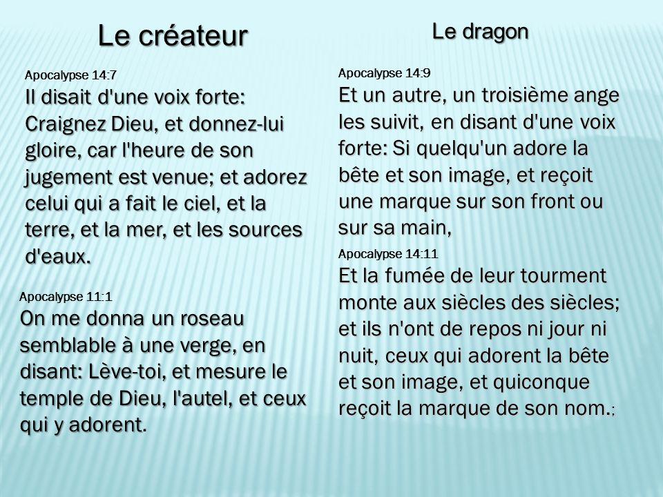 Le créateur Le dragon.