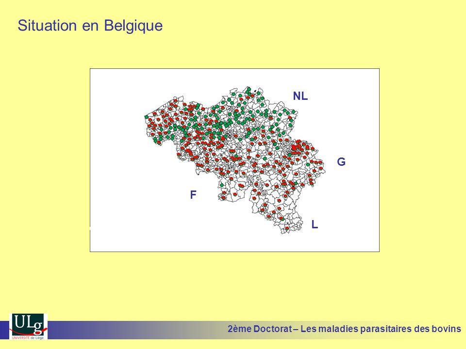 Situation en Belgique NL G F L