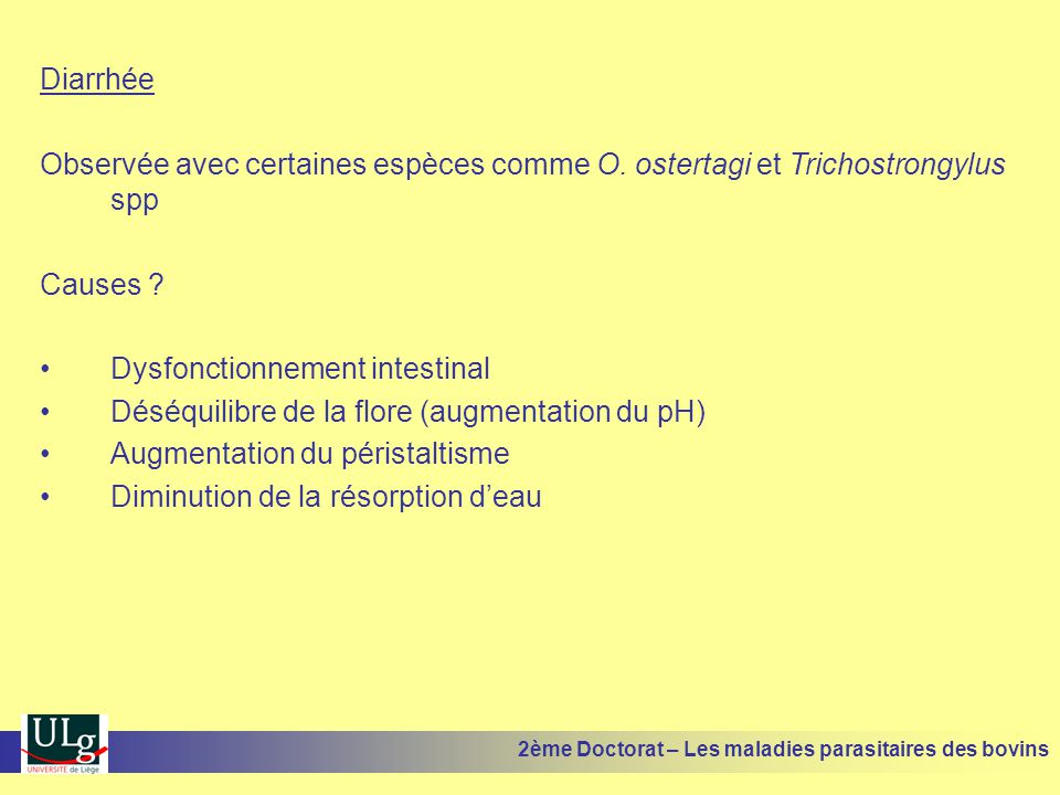 Dysfonctionnement intestinal