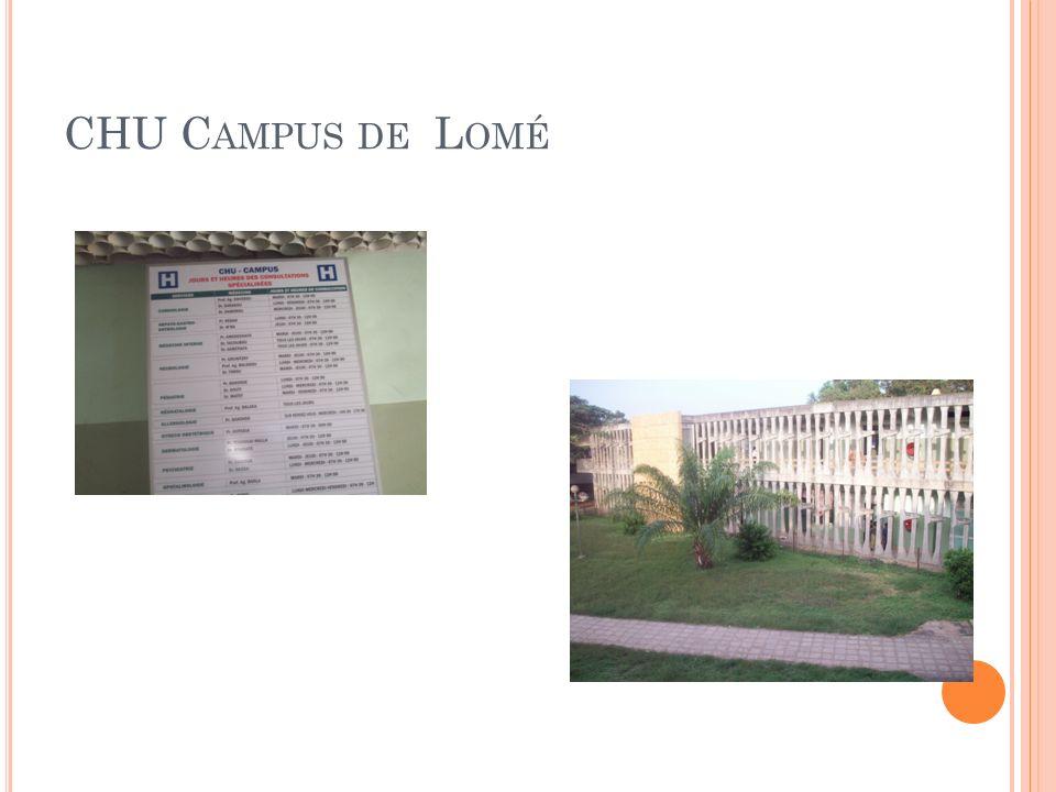 CHU Campus de Lomé