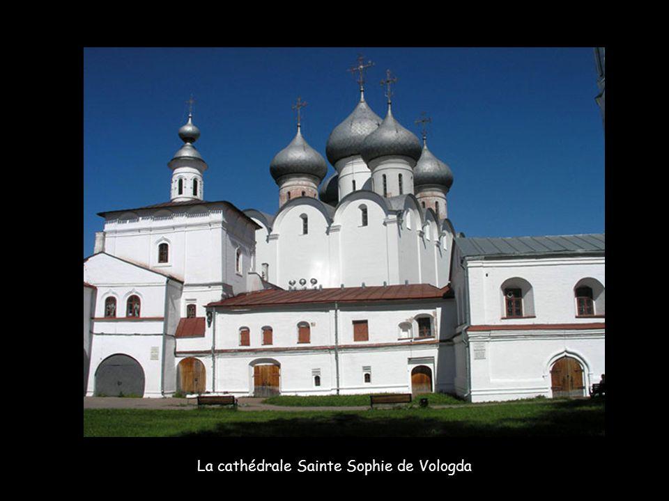 La cathédrale Sainte Sophie de Vologda