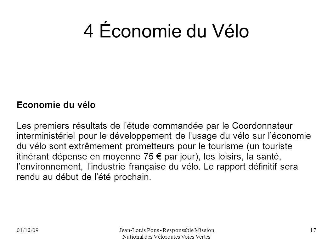 4 Économie du Vélo Economie du vélo
