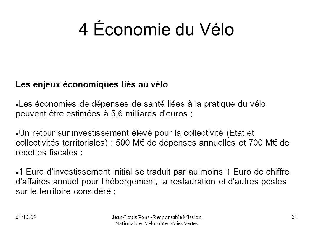 4 Économie du Vélo Les enjeux économiques liés au vélo