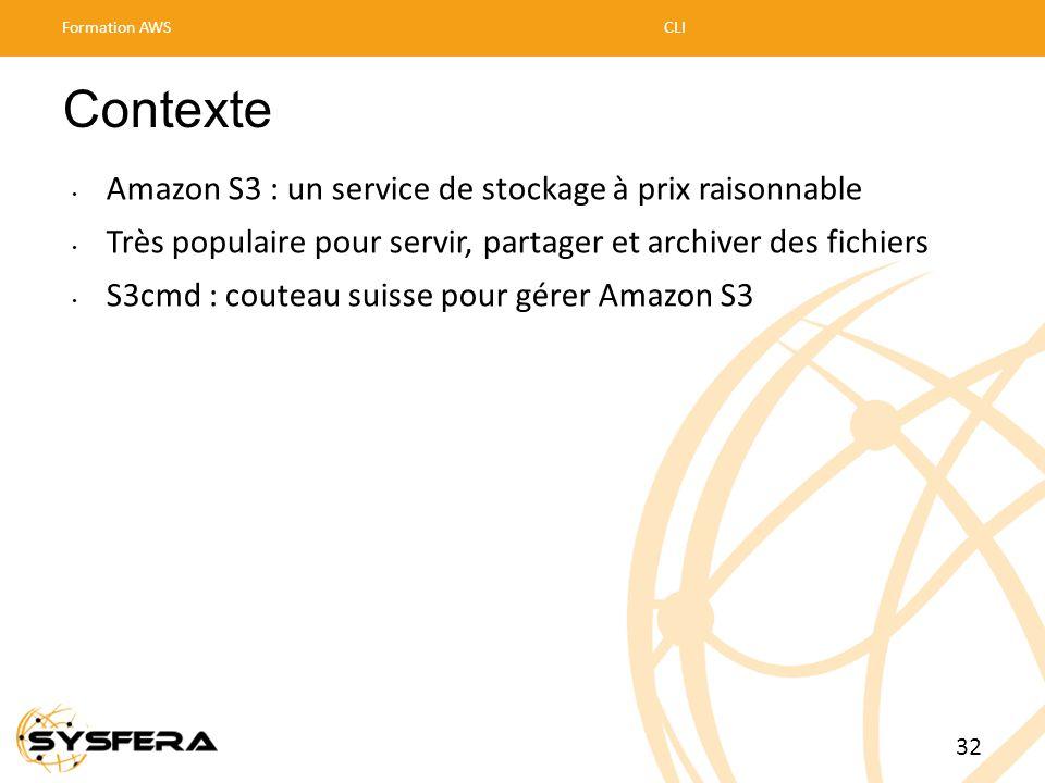 Contexte Amazon S3 : un service de stockage à prix raisonnable