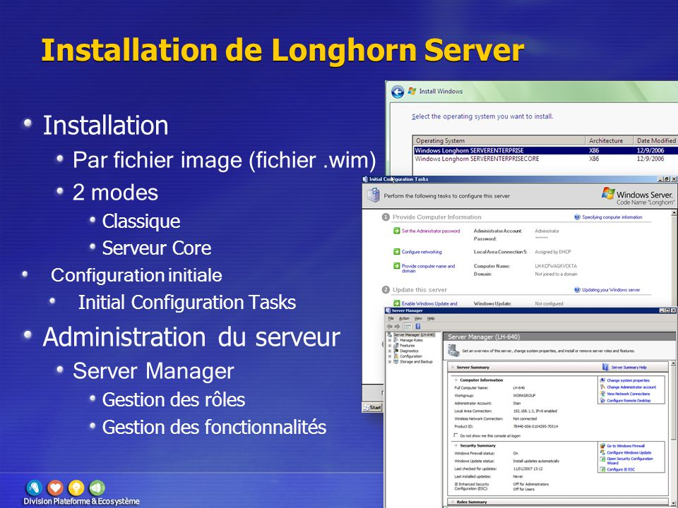 Installation de Longhorn Server