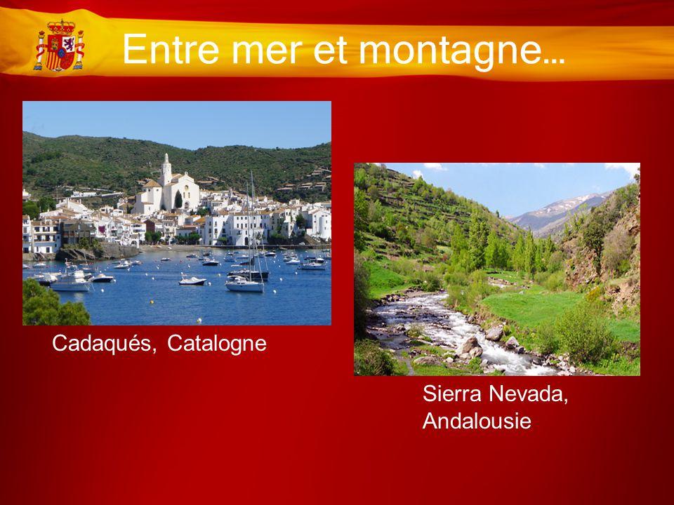Entre mer et montagne… Cadaqués, Catalogne Sierra Nevada, Andalousie