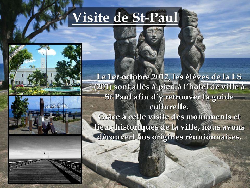 Visite de St-Paul