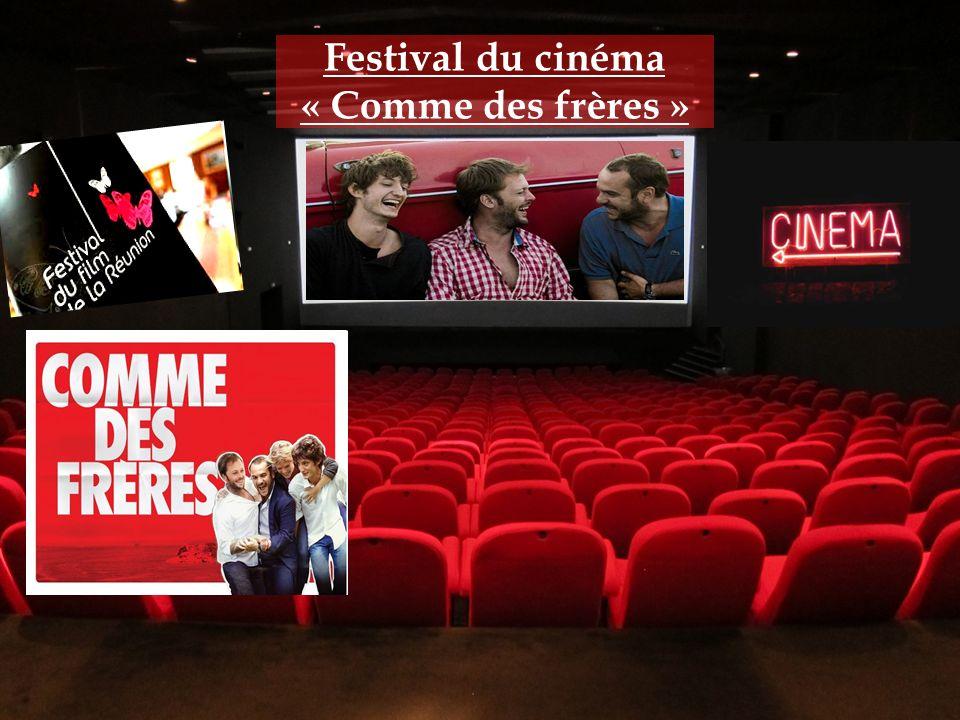 Festival du cinéma « Comme des frères »
