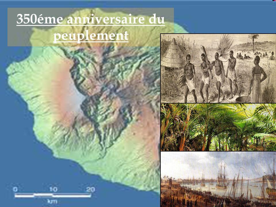 350éme anniversaire du peuplement